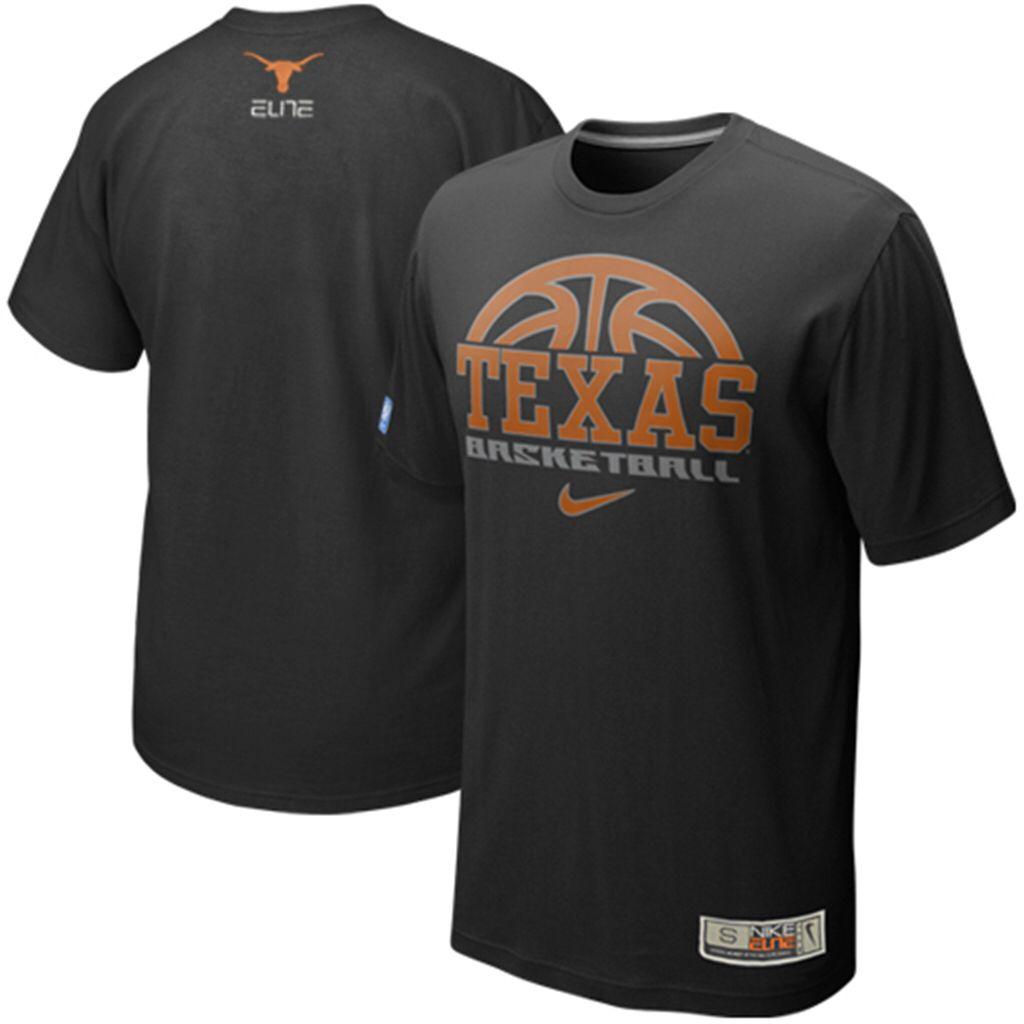 Nike Oklahoma State Cowboys 2011 Silver Elite Basketball Practice T-Shirt -  Black