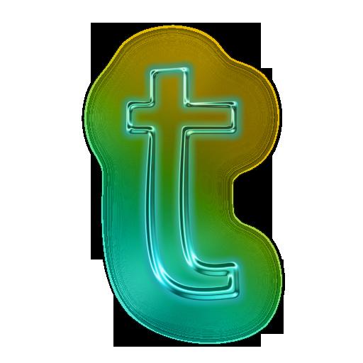 Letter T Icon 110712 » Icons Etc Lettering, Letter t, Icon