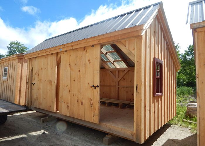 Three Sled Shed Building A Shed Wood Shed Plans Shed