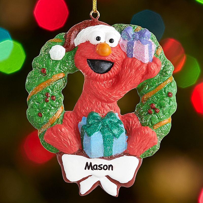 Elmo Ornament Christmas Ornaments Elmo Christmas Kids