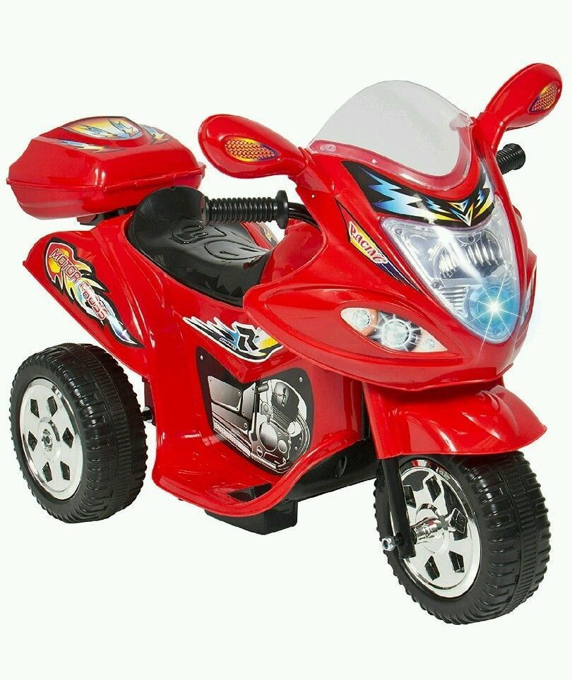 Kids Electric Motorcycle Toys Children Power Bicycle Boys Toddlers