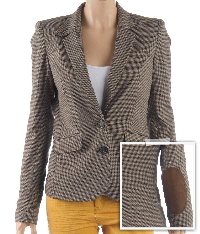 veste femme courte coudi res vestes et manteaux camaieu pret a porter f minin mode et. Black Bedroom Furniture Sets. Home Design Ideas