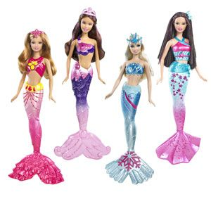 barbie and a mermaid tail