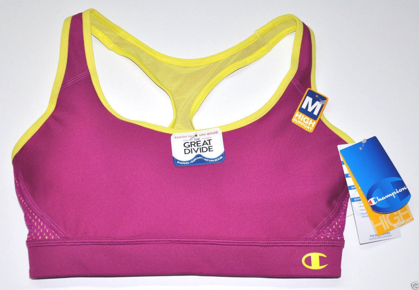 """Champion B7917 Sports Bra High Support """"The Great Divide"""