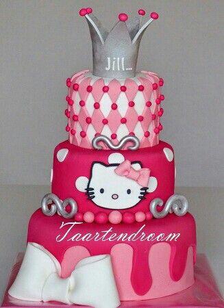 كيكة لولو كاتي Hello Kitty Cake Girl Cakes Cat Cake