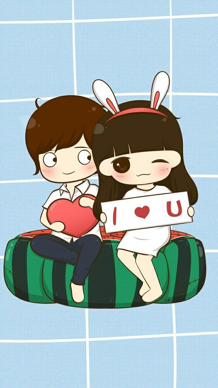 Pin By Yesica Uribe On Im Cute Love Cartoons Cute Couple Wallpaper Cute Drawings Of Love
