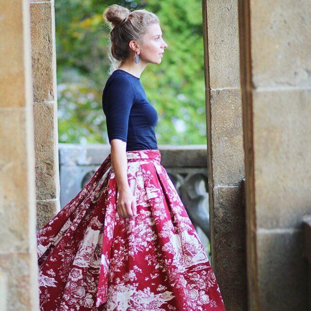 Outfitpost: Ein Look mit meinem selbstgenähten Lady-Rock - Lady-Blog