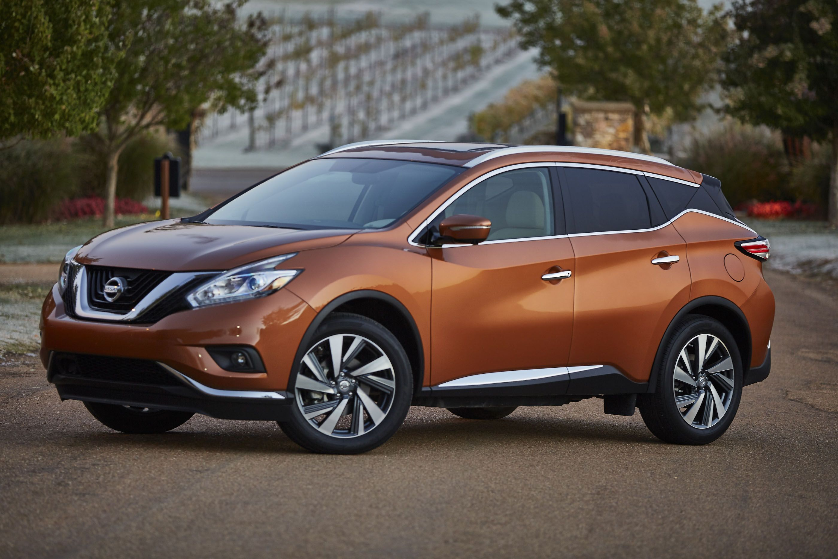 The 2017 Nissan Murano Is Smooth And Polished A Five Seat Crossover That Sort