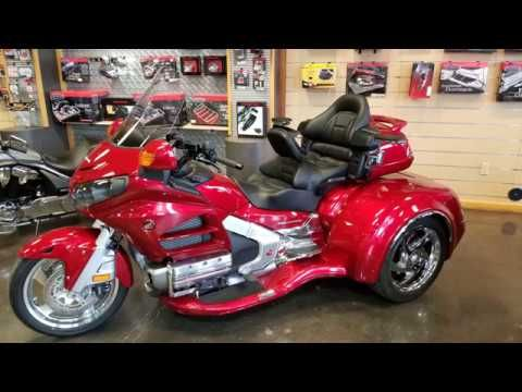2017 Honda Goldwing Csc Trike Kit Red Heartland Honda Youtube