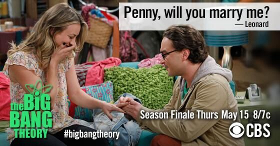 Get engaged what do episode penny and leonard The Big