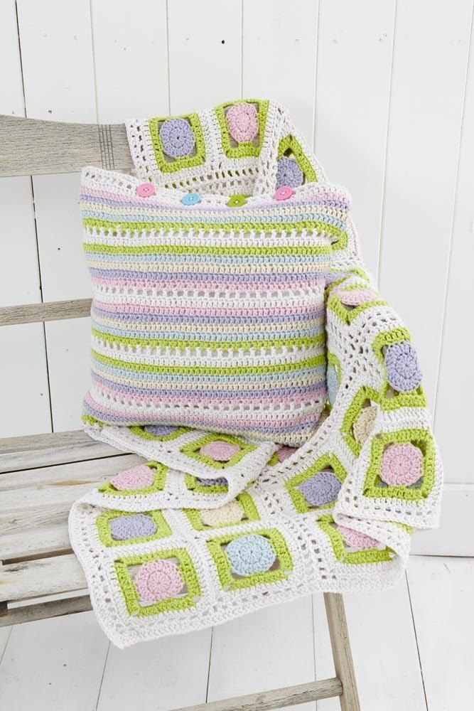 Throw in Stylecraft Malabar Aran - 9147 Free | crochete | Pinterest ...