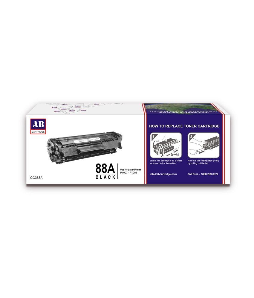 Loved It Ab 88a Black Toner Cartridge Hp 88a Black Toner For Hp Laserjet Pro P1007 Http Www Snapdeal Com Product Ab Toner Cartridge Toner Printer Toner
