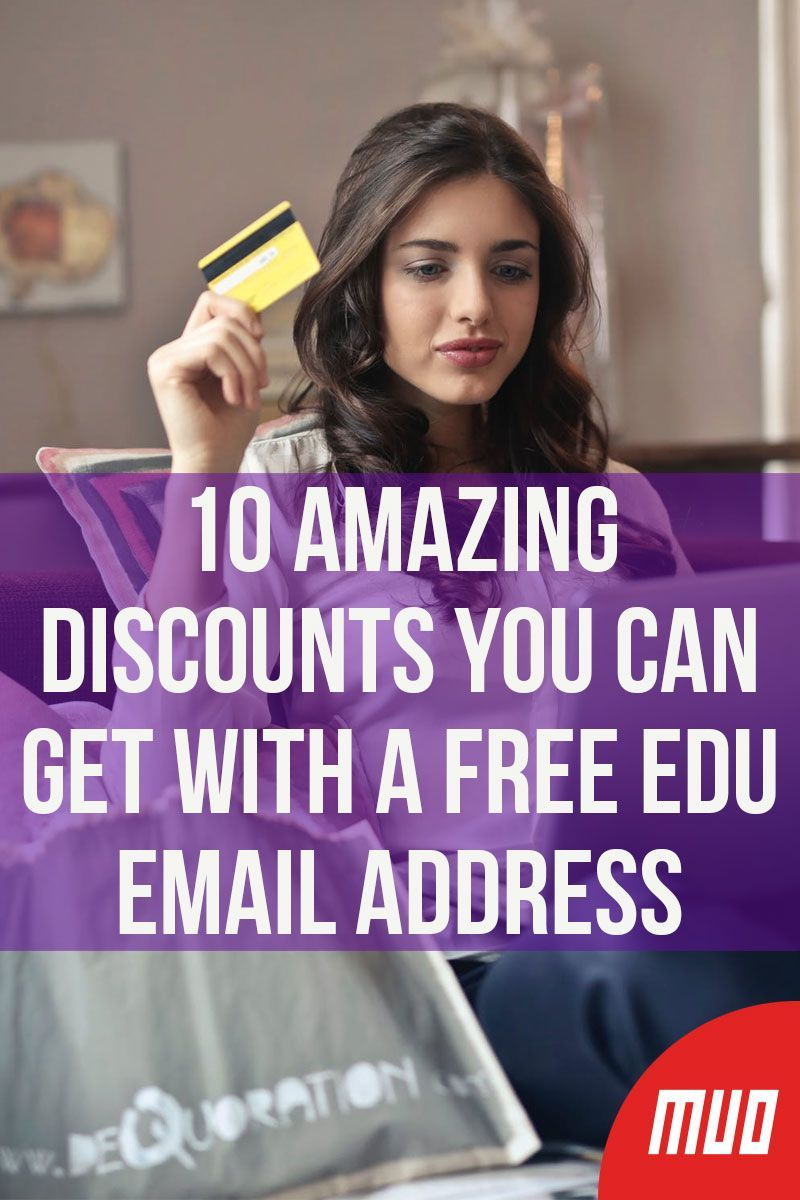 10 Amazing Discounts You Can Get With a Free EDU Email