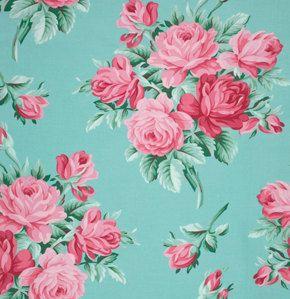Verna Mosquera Veranda Flower Wallpaper Wallpapers Vintage Floral Wallpaper