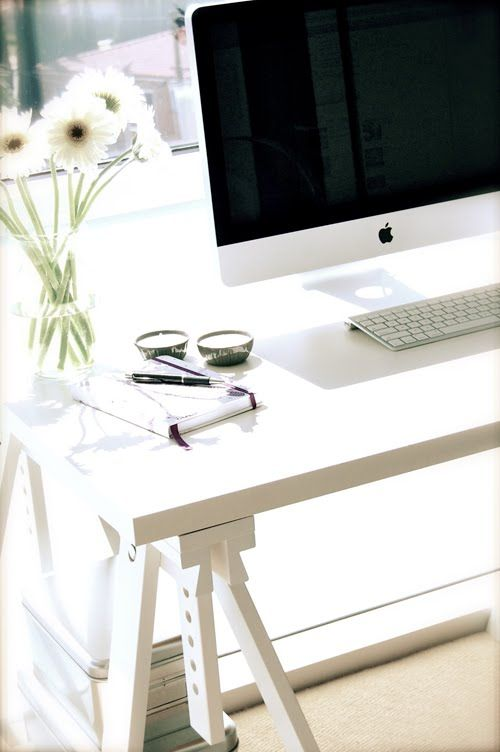 Home office tips I will keep in mind when I set up my new space in February :)
