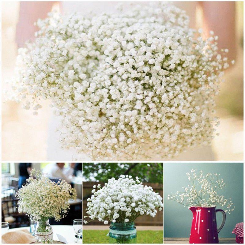 Artificial Fake Silk Gypsophila Baby Breath Flower Christmas Home Wedding Decor Ebay Flower Bouquet Wedding Gypsophila Wedding Home Wedding