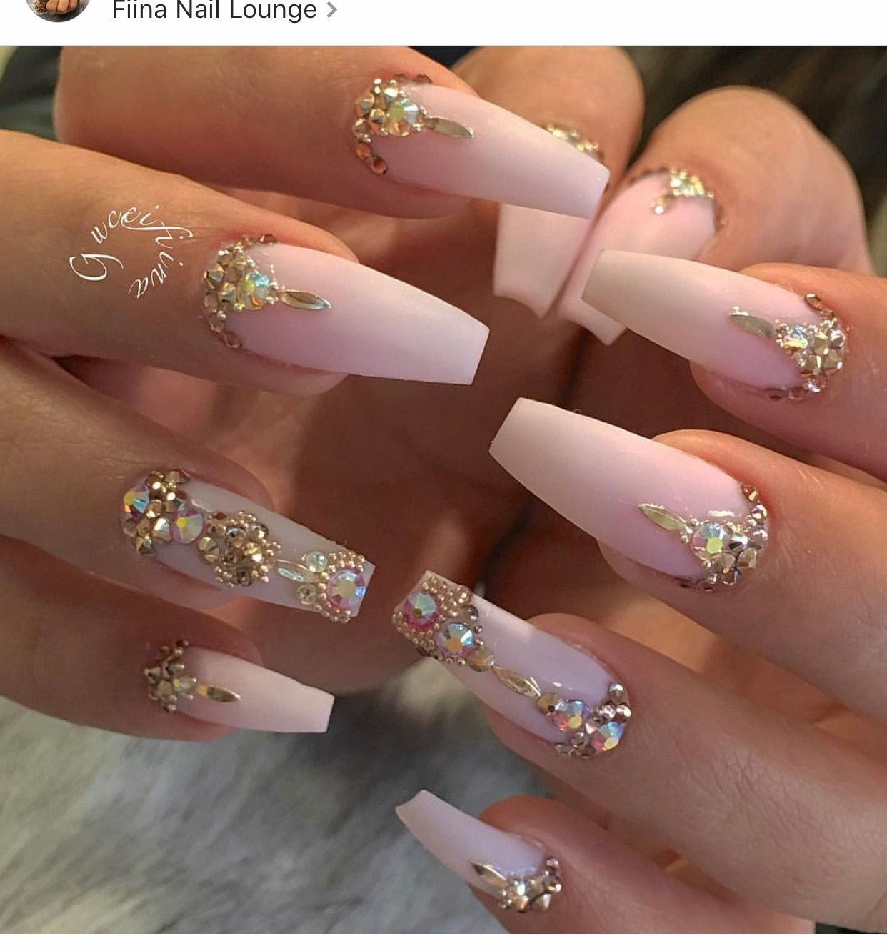 Pin by Shantel McKinney on Pink Nails | Pinterest | Nail nail ...