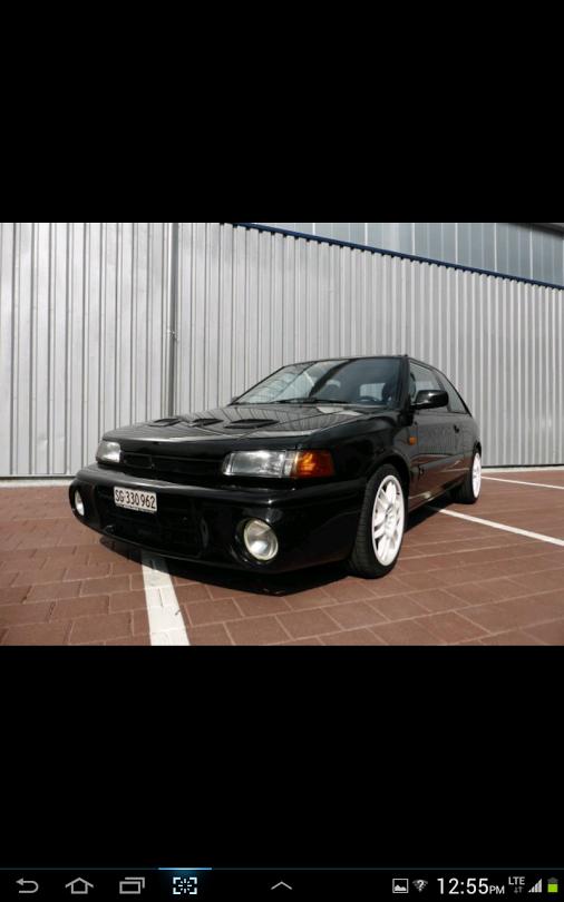 #Mazda 323 GT-R 1993