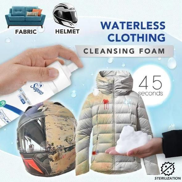 Waterless Clothing Cleansing Foam
