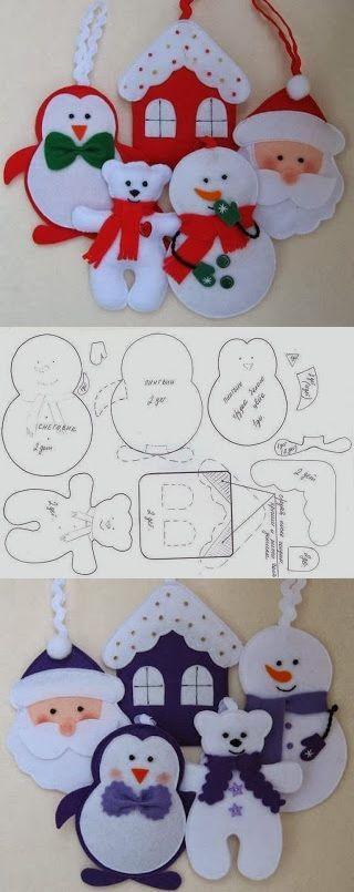 Volete realizzare con le vostre mani le decorazioni di natale? Pannolenci Natalizio 2020 Ecco 20 Idee Strepitose Senza Cuciture