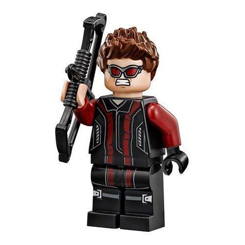 LEGO 76030 Super Heroes Avengers Hydra Showdown Hawkeye Minifigure w// Bow