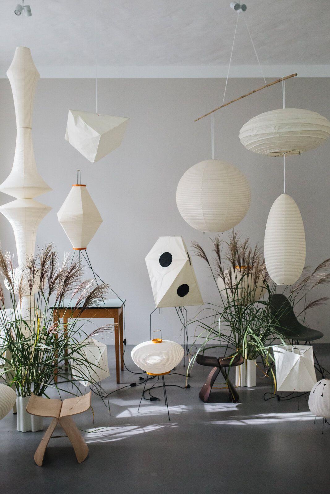 Vitra Event Akari Leuchten Berlin Herz Und Blut Interior Design Lifestyle Travel Blog Inneneinrichtung Design Leuchten