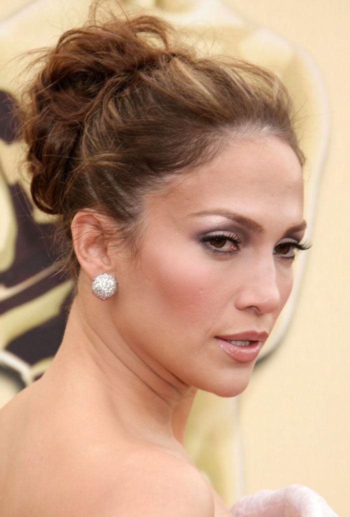 Jennifer Lopez Updo Hairstyles