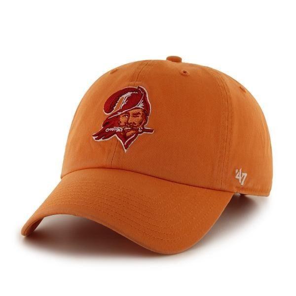 Tampa Bay Buccaneers Bucs Vintage Clean Up Slouch Crown Adjustable Hat Cap New Tampabaybuccaneers Adjustable Hat 47 Brand Tampa Bay Buccaneers