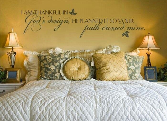 Nice wall saying - Has to be designed. Contact me to design your ...