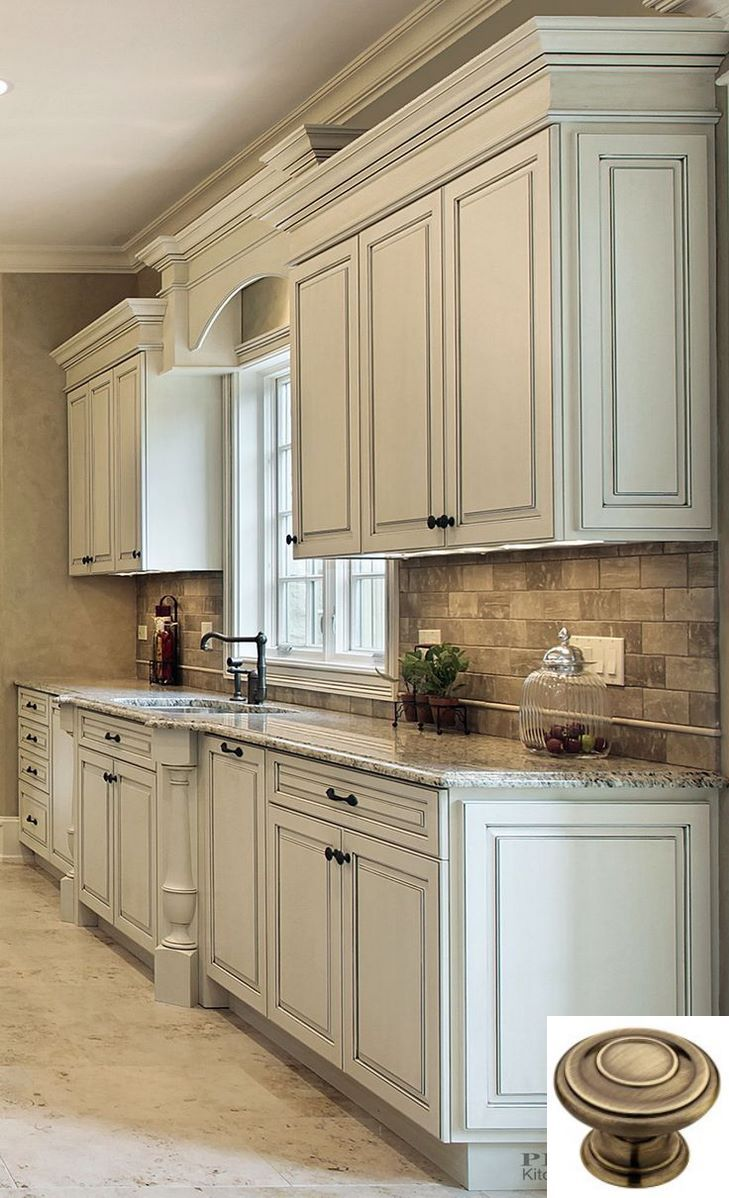 Dark Light Oak Maple Cherry Cabinetry And Unfinished Wood Kitchen Cabinets Lowes Chec Antique White Kitchen Kitchen Design Antique White Kitchen Cabinets