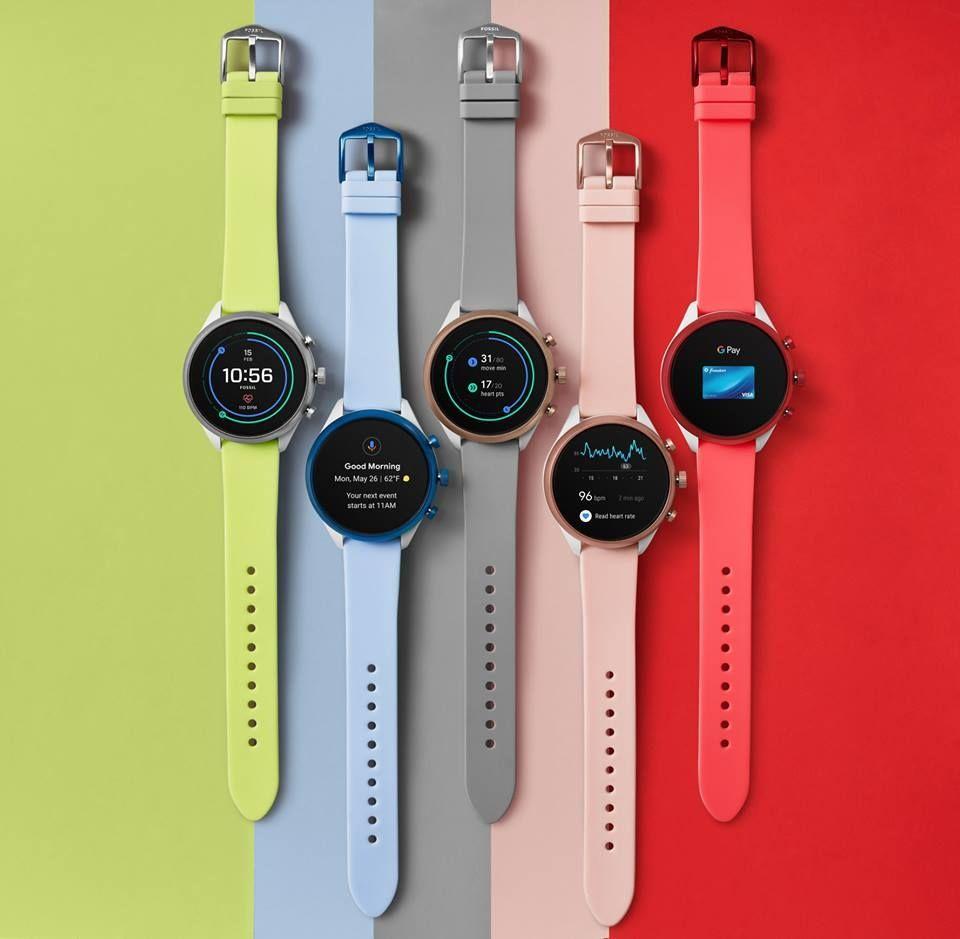 Fossil Sport smartwatch with Snapdragon Wear 3100, WearOS