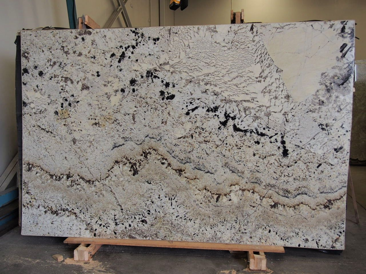 Swiss Alps Granite Slab Sold By Milestone Marble Size 77 X 117 X 3 4 Inches Stone Slab Granite Slab Things To Sell