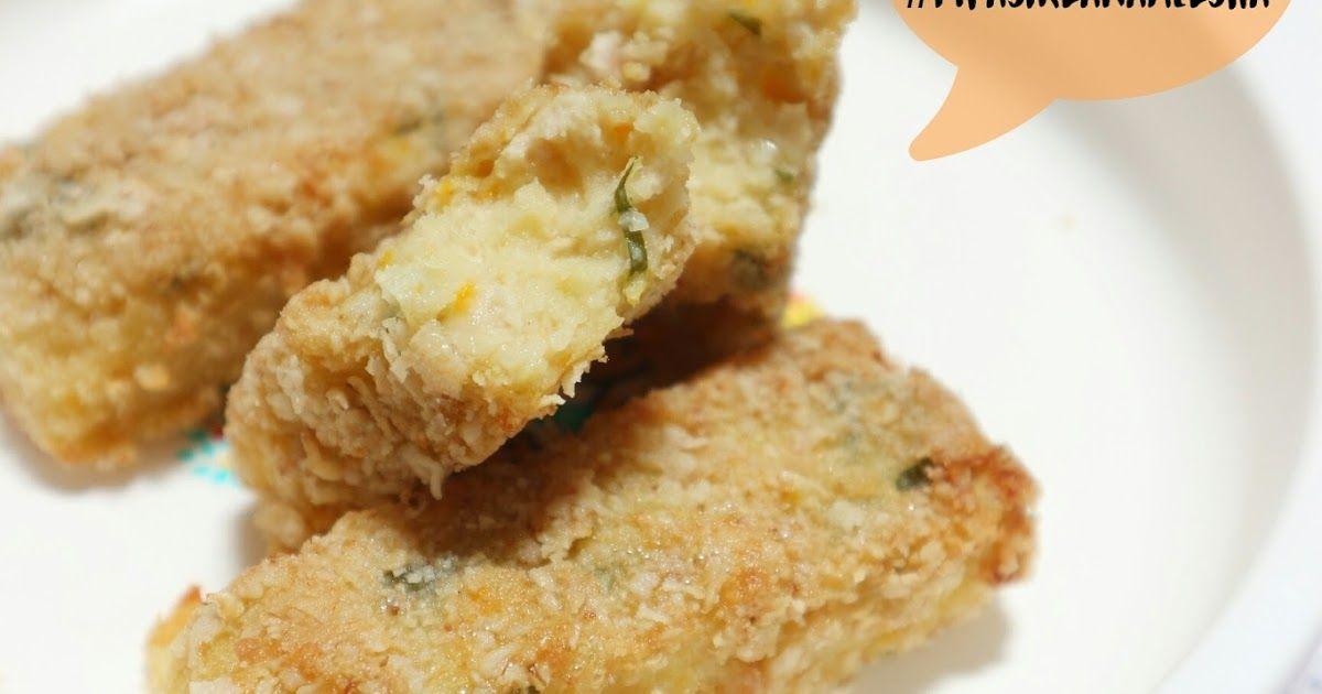 Resep Mpasi 12 Bulan Resep Nugget Tahu Makanan Resep Makanan Bayi Krispie Treats