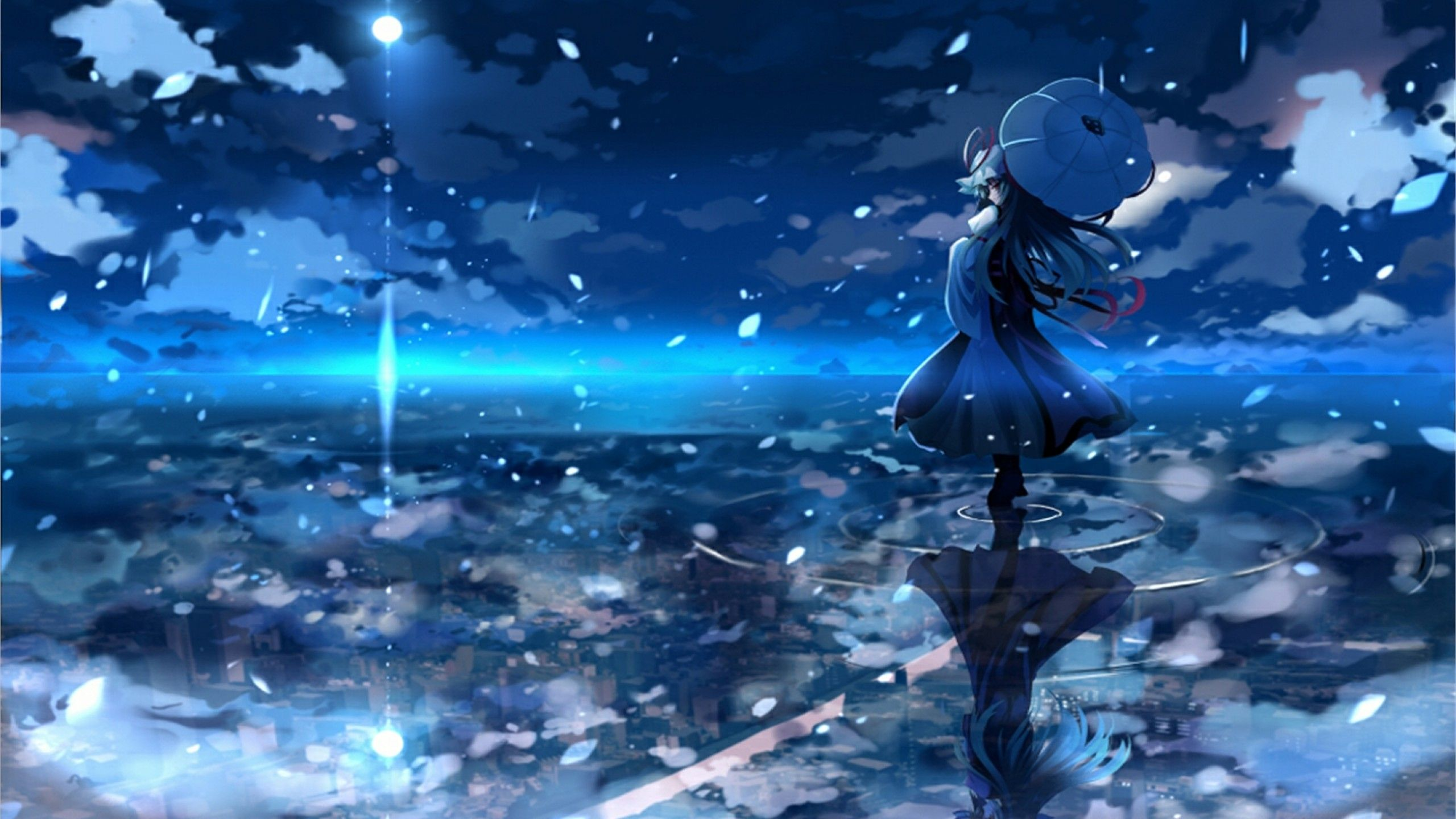City Overlook With Images Anime Scenery Anime Scenery