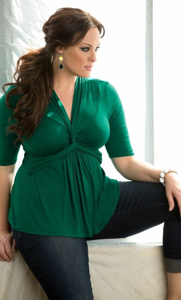 0299ec5d12e 40 Plus Size Outfit Ideas For Curvy Women