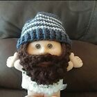 Crochet Beard Hat #Baby #Toddler #crochetedbeards Crochet Beard Hat #Baby #Toddler #crochetedbeards