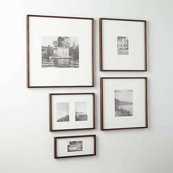 Gallery Walnut 11x14 Picture Frame Unique Picture Frames