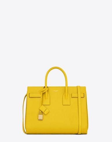 83e3283f0590c PETIT SAC DE JOUR en cuir jaune | shoes and bags | Cuir jaune, Sac ...