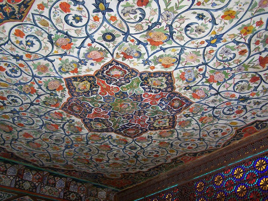 Sheki Khan Palacei Xviiic Khan Art Photo