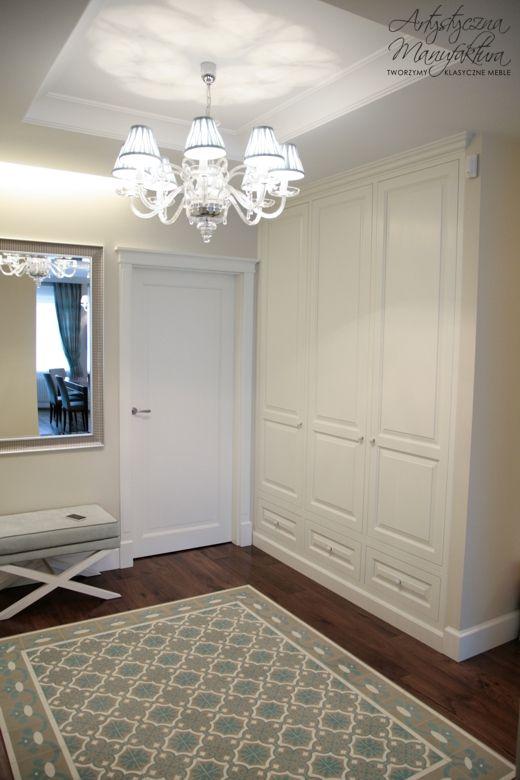 Biale Szafy W Klasycznym Stylu 100 Drewniane Na Zamowienie Beautiful Interiors House Styles Home Decor