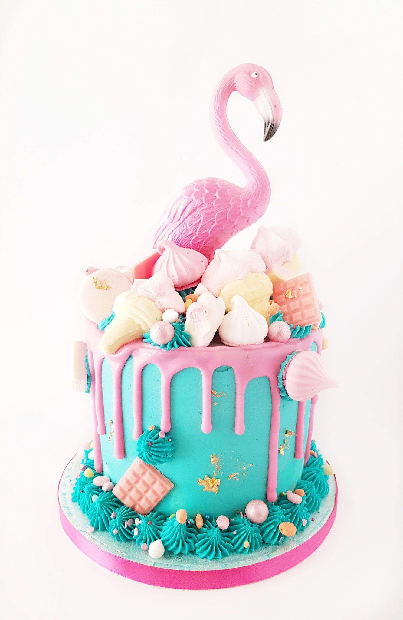 flamingo taart Flamingo Cake, Blue Love, Maan, Taart Den Bosch | Inge's  flamingo taart