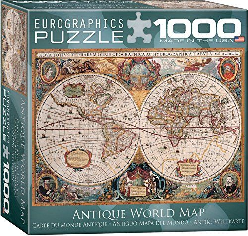 Old world map jigsaw puzzle puzzle 1000 old world map jigsaw puzzle jigsaw puzzles for adults gumiabroncs Gallery