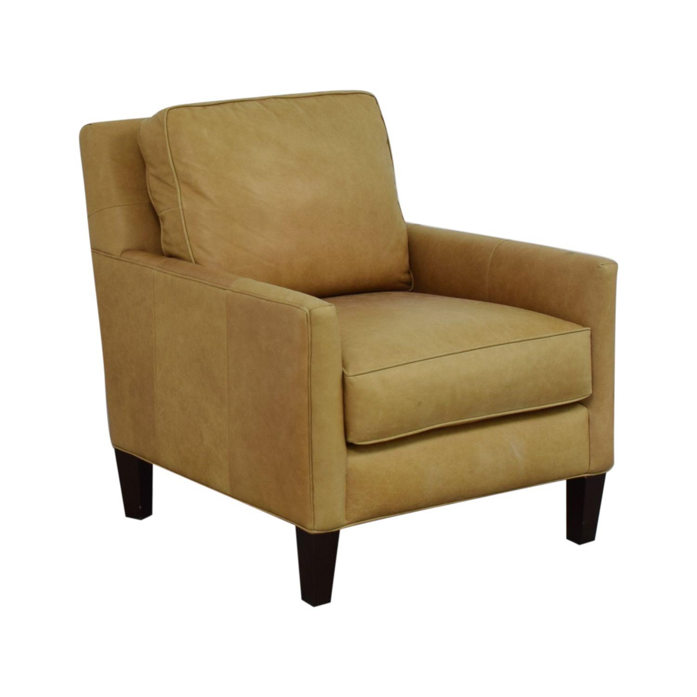 Thomasville Leather Armchair