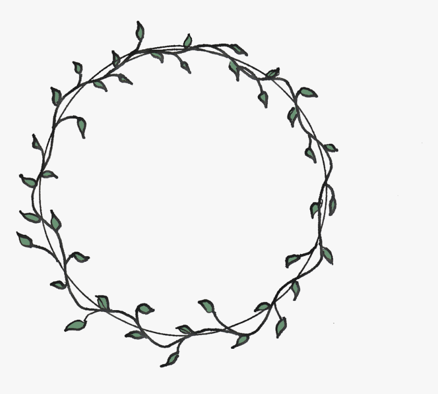 Vines Clipart Circular Clip Art Free Flower Circle Border Black And White Hd Png Download Is Free Transpare Vine Drawing Flower Drawing Design Flower Circle
