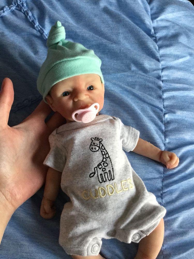 Kimbry Dolls 11inch Full Silicone Baby Kira Doll Reborn Ebay Silicone Babies Silicone Baby Dolls Baby Dolls