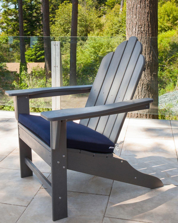 Long Island Plastic Resin Adirondack Chair Resin Adirondack