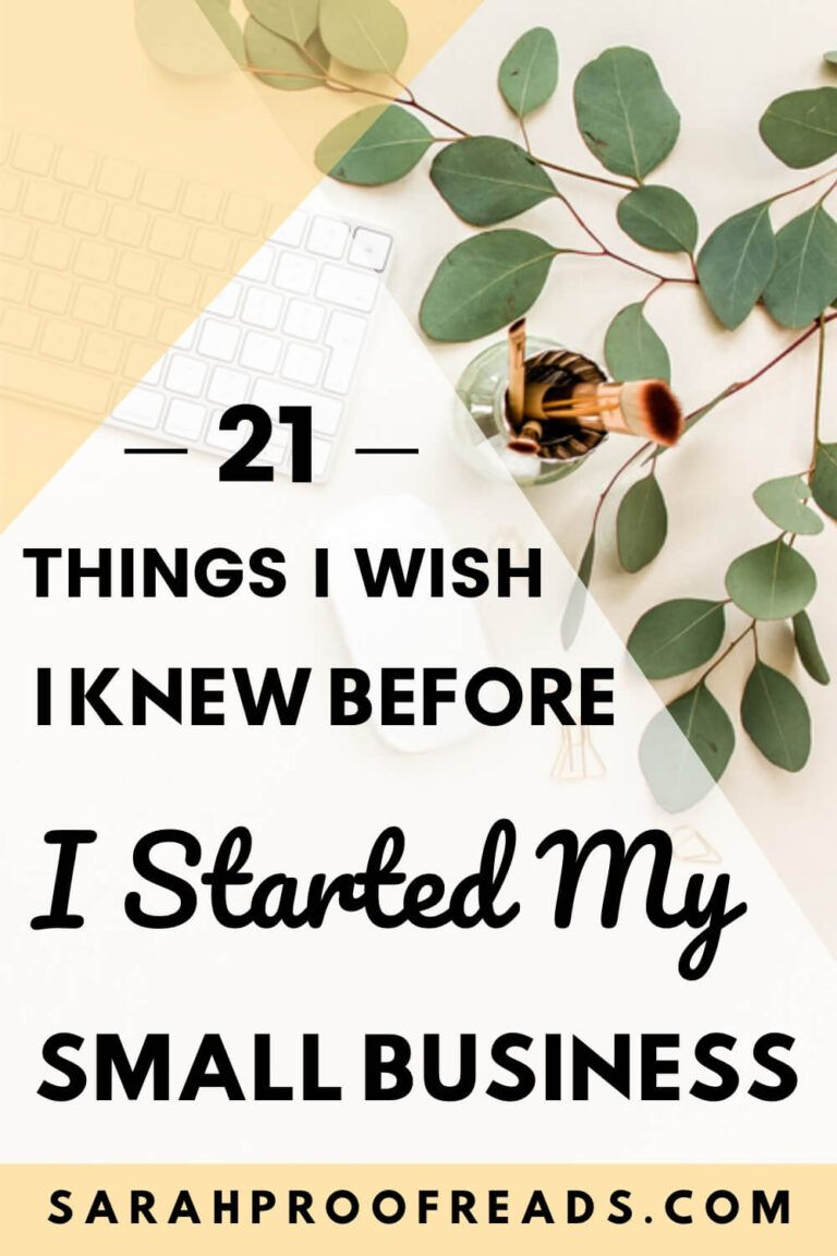 21 Things I Wish I Knew Before I Started My Small Business Small Business Organization Small Business Resources Small Business Plan