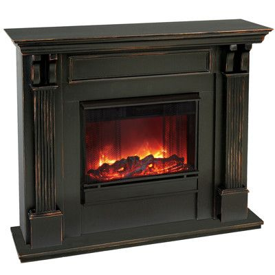 Ashley Electric Fireplace Blackwash Ventless Fireplace Gel