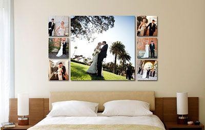 Filmstrip Gallery Wall Wedding Photo Walls Wedding Picture