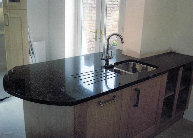 kitchen sink perth granite undermounted sink drainer grooves breakfast bar 2814